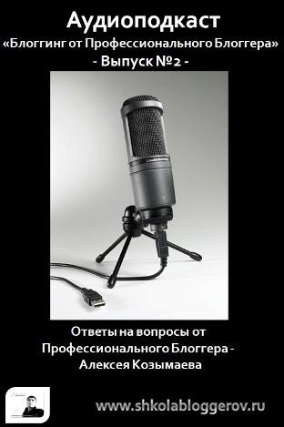 Аудиоподкаст. Выпуск №2